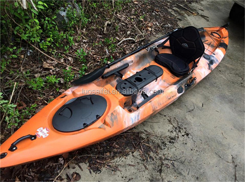 Kayak with rudder and foot pedal system buy kayak with for Fishing kayak with foot pedals