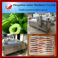 Large output fruits blanching almond nut boiling machine