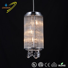 GZ10001-3P contemporary crystal restaurant lighting