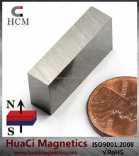 """Top Quality AlNiCo 5 Magnet Block 1""""x1/2""""x1/4"""" Up to 1,022 Degree Fahrenheit"""