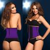 2015 Latex Waist Training Corsets Sexy Underust Waist Cincher Rubber corsets Body Shape Wear steel boned corset