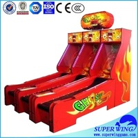 Coin operated low cost cricket bowling machine