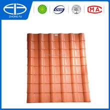 Synthetic resin platic slate roofing tiles/ASA PVC Spanish roof tile