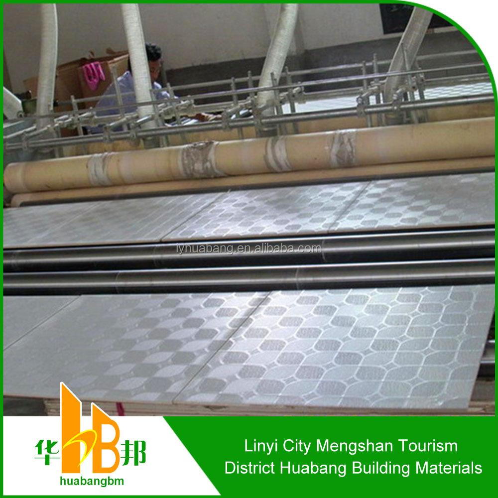 Vinyl Covered Drywall : Vinyl coated gypsum board with aluminium foil buy