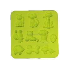 Molde de silicona decoración de pasteles congelados, herramienta de la pasta de azúcar