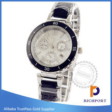 New product white black big dail alloy Fashion watch, Luxury ladies Watches