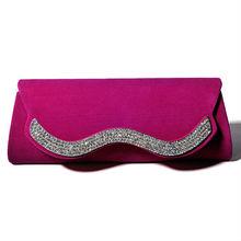 Handcee hot velvet wholesale evening handbags for wedding