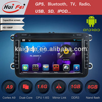 HuiFei Android 4.2.2 Multipoint Capacitive Touch Screen with Mirror Link support OBD2 for VW Golf 5 Car Radio GPS