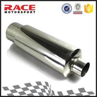 Essen Member Silent Round Straight Stainless Steel Motorcycle Exhaust Muffler