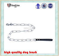 New design pet supplies long link chain dog leashes