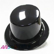 Party supplies quality products plastics top hat gentleman hat for party decoration