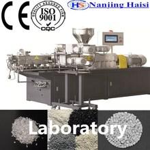 Carbon black Waste plastic granules making machine for granulating