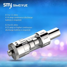 Bulk e cigarette purchase from china Simeiyue best selling vapor kit sub ohm tank speed7 match with temp control e cig