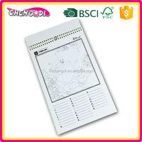 Non toxic A5 can hang on santa paper advent calendar