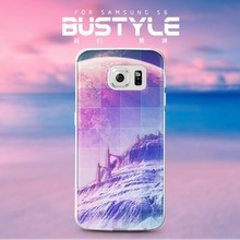 2015 Newest design 3D transparent case for Samsung Galaxy S6,fancy cell phone cover