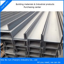 U Shaped Hot Rolled box Channel Steel
