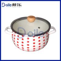 5pcs china color enamel cookware