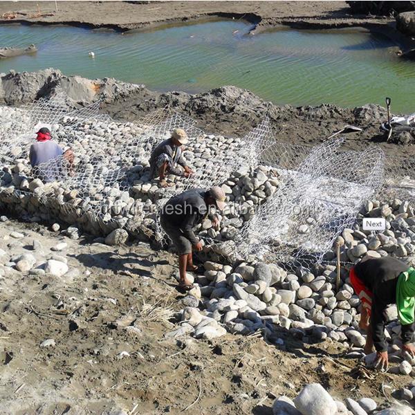 Galvanized river bank protect gabion baskets/gabion box/Reno mattress(factory)