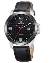 2015 watch fashion leather strap band men watches shopping online