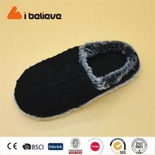 cavaliere nero in inverno cotone pantofola