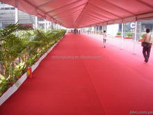 Polyester Exhibition carpet for sale with factory price