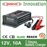 12V 10A Lead Acid Battery Charger for Car, Truck Battery Charger