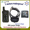 400Meter waterproof multi-dog system slave shock collar