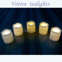 Birthday and party favor flameless electric votive led candle