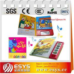 wholesale good quality children push button sound books
