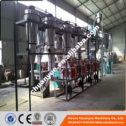 High efficiency and low price maize meal making machine