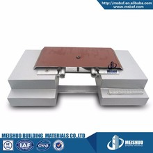 Sprayed aluminum recessed wall expansion joint cover assemblies