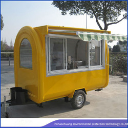 widely used food trucks /Street Fashion ,Customers favorite Electric Dining car/mobile vending trucks