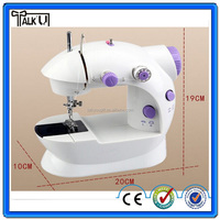 Automatic manual household clothes mini sewing machine, multi-functional battery powered mini domestic sewing machine