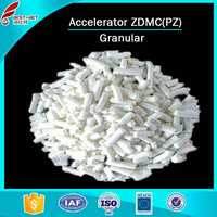 Ailibaba supplier Rubber accelerator ZDMC (PZ) Chemical formula C6H12N2S4ZN for rubber tyre manufacture purchasing agent