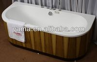 high quality simple compact onyx tub surround
