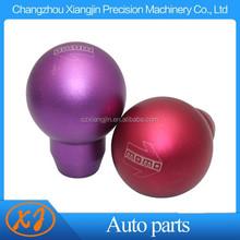 cnc aluminum pink gear shift knob