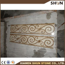 2015 top selling modern marble border designs from china