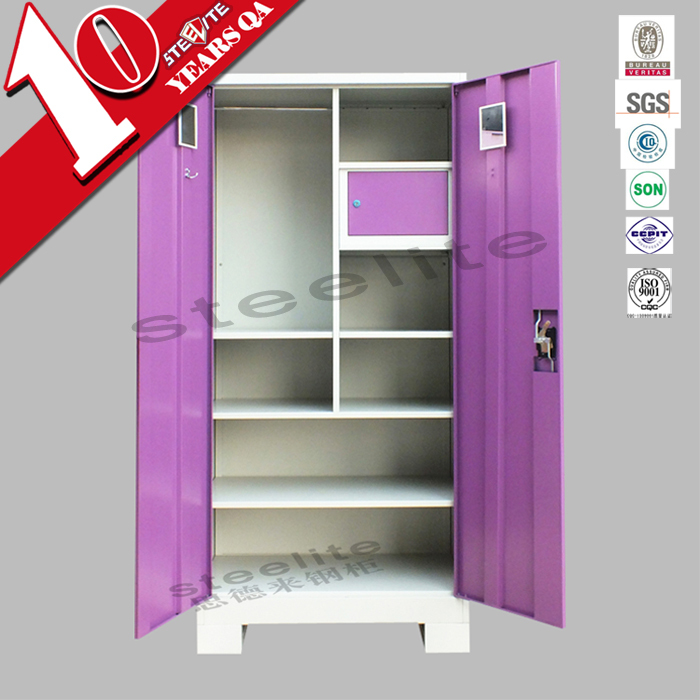 Indian bedroom steel almirah design double door steel clothes almirah view indian bedroom - Almirah designs for clothes ...