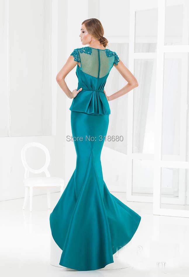 Teal Blue Mother Of The Bride Dresses