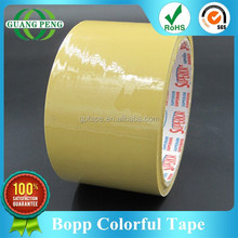 Bopp New Material Colored Adhesive Parcel Sealing Film With Good Adhesion