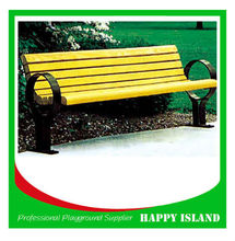 2015 attractive design park bench Chinese manufacturer Outdoor Stone Benches Outdoor Chair Set Park Garden Chair