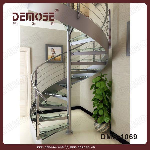 L gant escalier spirale escalier marches main courante en - Escalier colimacon prefabrique ...