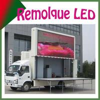 Sunrise camion un lado de pantalla de leds, para gran eventos, y publicidades