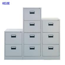 Mdf alta calidad Vertical del cajón archivador de acero Metal Nightstanding Pedestal cajón del gabinete