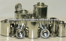 PVC SOLVENT CEMENT TIN CAN