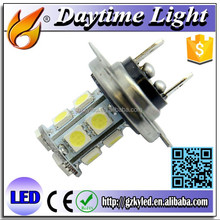 led bulb light H7 13 smd 5050 led auto fog light Universal led fog light mini cooper r56