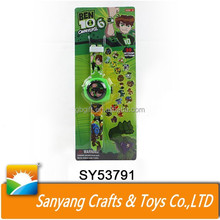 Projection electric watch kids watch ben 10 toy watch