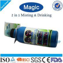 Creativo 2 en 1 nebulización potable y Red Bull botella de agua
