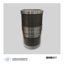 Engine spare parts china Manufacturer's direct marketing Cylinder liner for CUMS 6ct