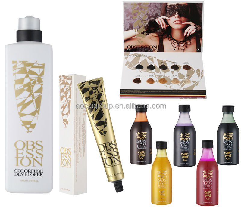 Hair Cosmetic Professional Permanent Hair Dye Color Colour Moq 1